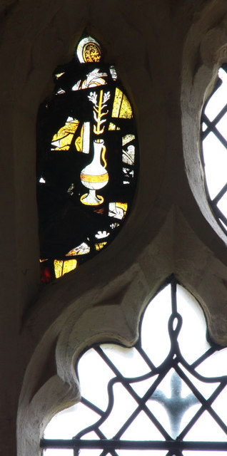 St Swithun, Great Chishill - Stained glass window