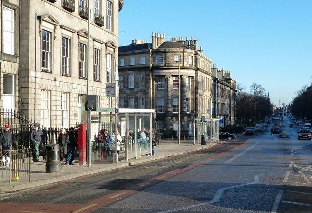 Waiting in London Road, Edinburgh