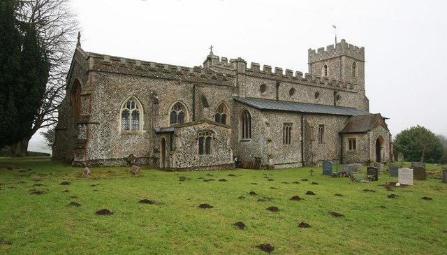 Holy Trinity, Chrishall, Essex