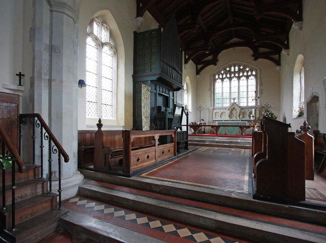 Holy Trinity, Chrishall, Essex - Chancel