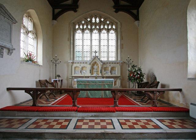 Holy Trinity, Chrishall, Essex - Sanctuary