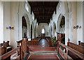 TL4538 : Holy Trinity, Chrishall, Essex - West end by John Salmon