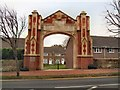 TV6098 : Ascham St Vincent's Memorial Arch by Paul Gillett