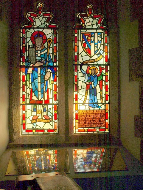 Window in Clannaborough Church
