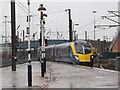 SE5703 : Doncaster station: Hull to London express by Stephen Craven