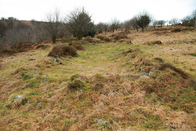 Remains of longhouse