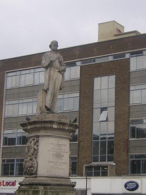 Richard Cobden statue, Mornington Crescent