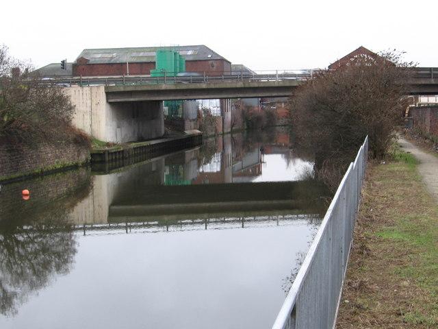 Rotherham - Centenary Way bridge.
