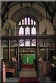 SJ2322 : St Michael the Archangel, Llanyblodwel - East end by John Salmon