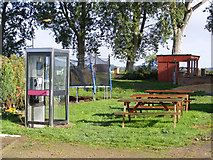TG3504 : Public telephone box near the Beauchamp Arms public house by Glen Denny