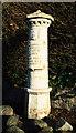 J3269 : Boundary post, Belfast by Rossographer