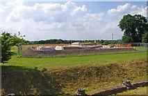 SJ5608 : Wroxeter Roman City (07) - construction of a new Roman Villa by P L Chadwick