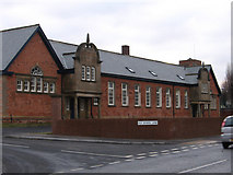 SK5274 : Creswell - former secondary school by Dave Bevis
