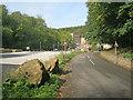 SK5264 : Entrance to Pleasley Vale Business Park by Trevor Rickard