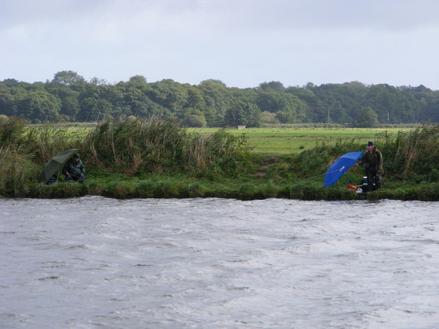 Fishermen on the River Yare