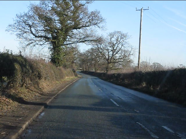 B5391 in Tabley Superior