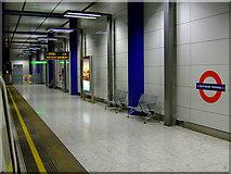 TQ0575 : Heathrow Terminal 5 underground station by Thomas Nugent