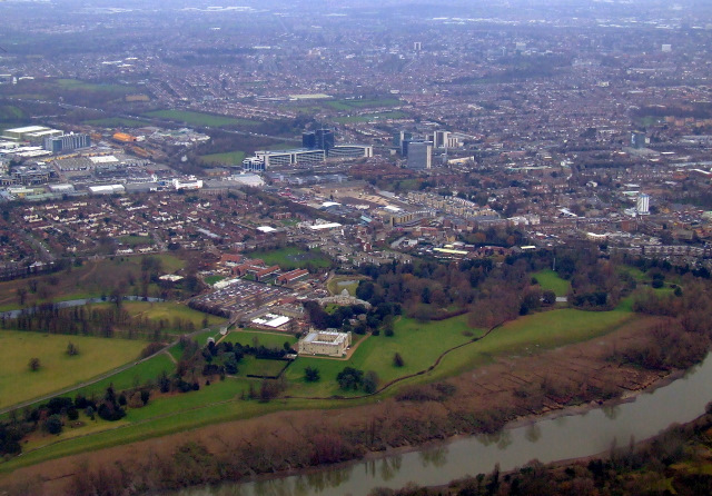 Syon Park from the air