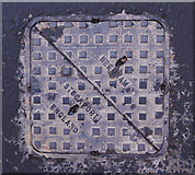 J3271 : Manhole cover, Belfast by Rossographer
