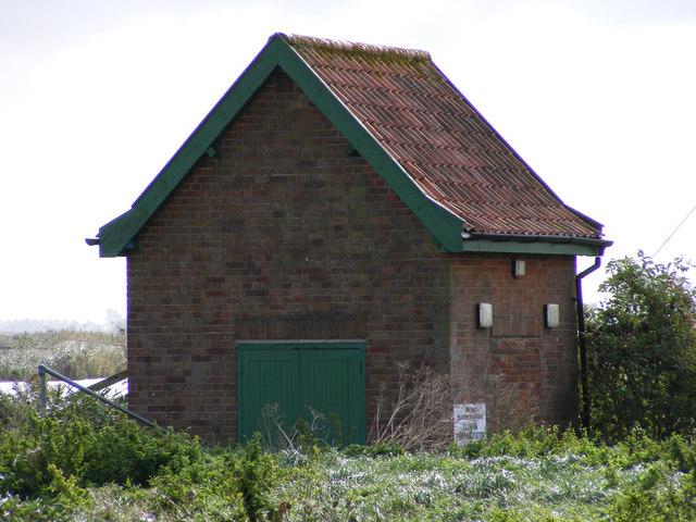 Pumping Station near Claxton Marsh