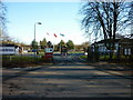 TA0143 : The entrance to Normandy Barracks, Leconfield by Ian S