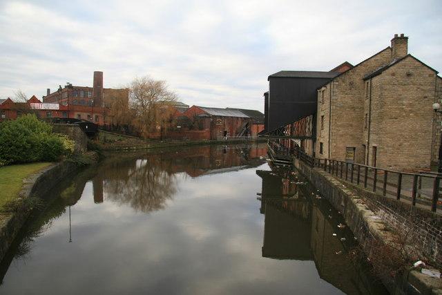 Wigan Pier area