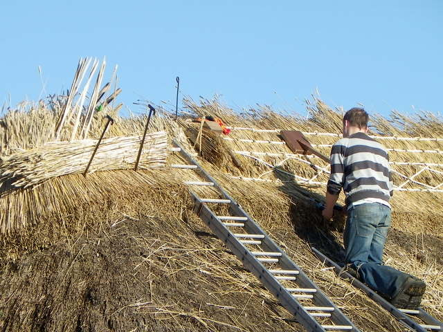 Thatching, Coombe Bissett