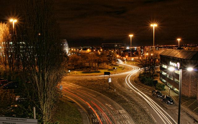 New Bridge Street Roundabout
