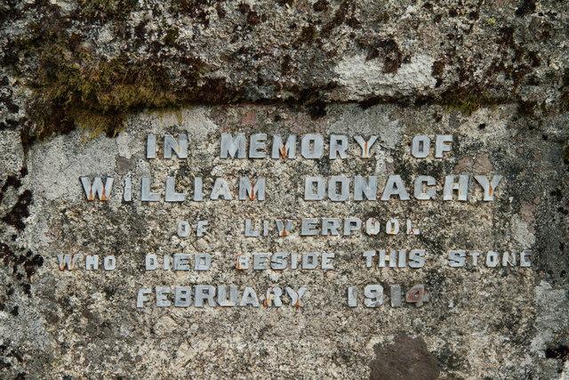 William Donaghy memorial