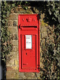 TQ4265 : Victorian postbox, Oakley Road (A233) / Cross Road, BR2 by Mike Quinn