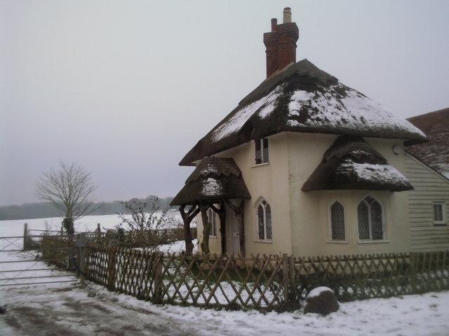 Lodge in Cobham Park