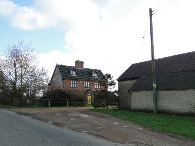 Heath Farm on Winfarthing Road, Banham
