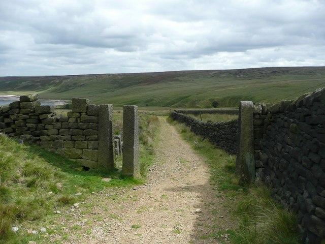 Gateway on the Calderdale Way