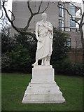 TQ2977 : Statue of William Huskisson, Pimlico Gardens by Richard Rogerson