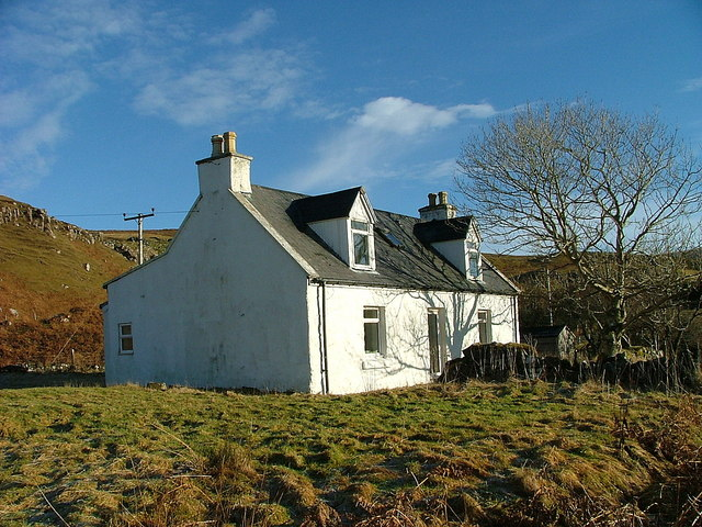 Croft house in Peinchonnich