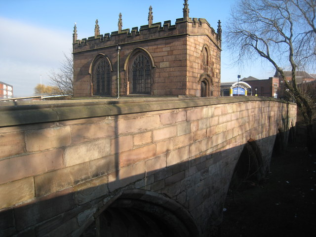 Chantry Chapel of Our Lady and Rotherham Bridge