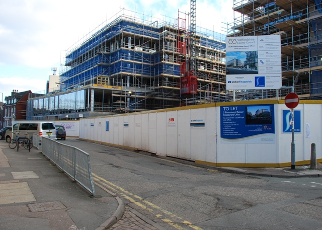The changing face of Stafford - continued
