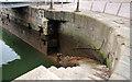 J3575 : Harbour steps, Belfast by Albert Bridge