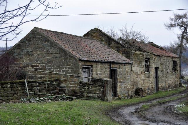 Old farm outbuildings