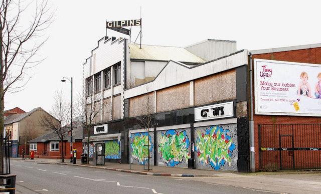 "Former ""Gilpins"", Belfast (1)"