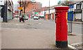 J3373 : Pillar box, Belfast by Albert Bridge