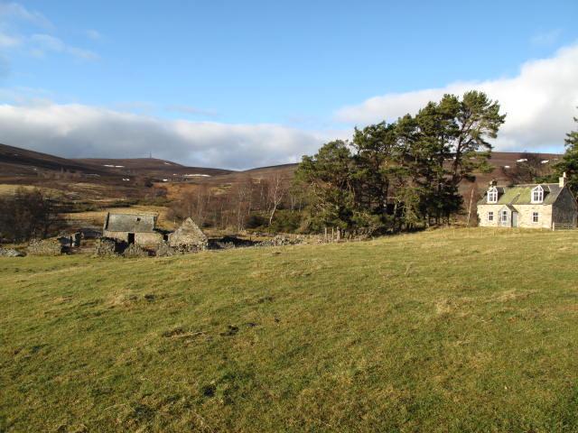 The derelict farm Sliaghnagairn