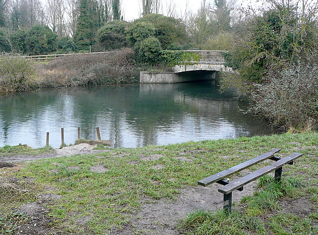 River Itchen at St Catherines