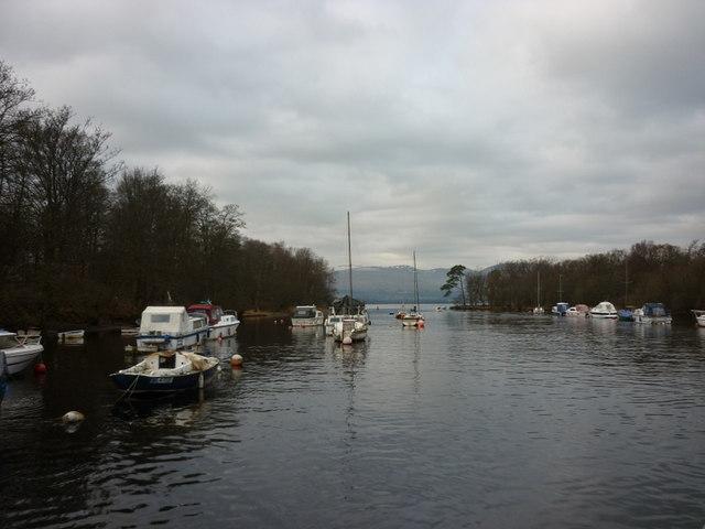 Entering Loch Lomond from Balloch