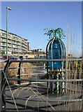 SZ1191 : Boscombe Art Trail, Orientation Feature by Mike Faherty