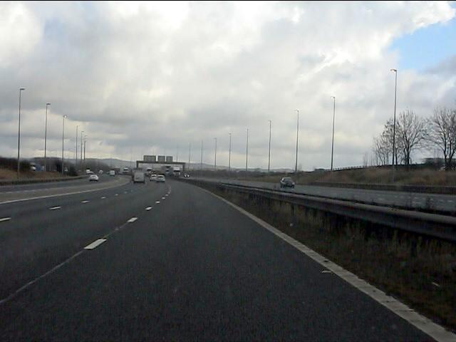 M56 Motorway east of Picton Lane