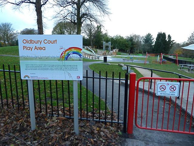 Children's Play Area at Oldbury Court Estate, Bristol