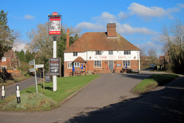 the red lion charing heath 169 oast house archive ccbysa