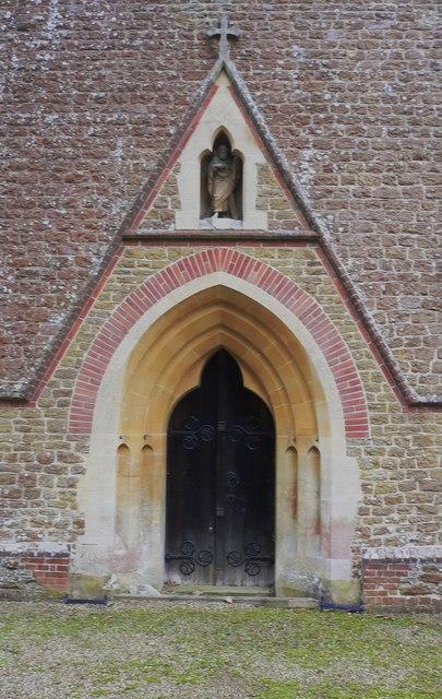 The west door of Grafham church
