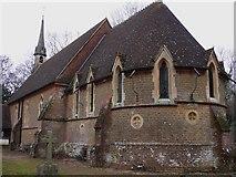 TQ0241 : The apse of Grafham church by Shazz